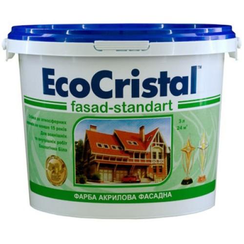 Фасадная краска Ирком EcoCristal Стандарт ИР-131