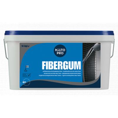 Гидроизоляционная мастика Kiilto Fibergum
