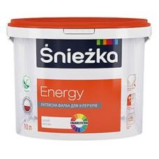 Латексная краска Sniezka Energy Снежка Энерджи