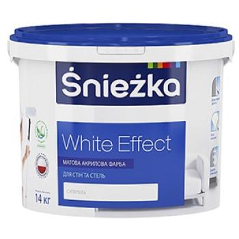 Краска Sniezka White Effect Снежка Вайт Эффект