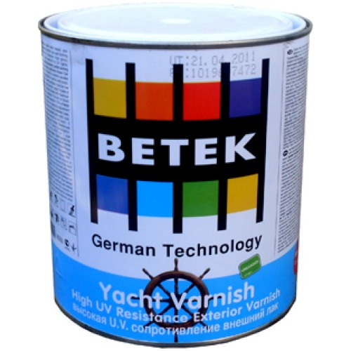 Яхтенный лак Betek Yacht Varnish полумат