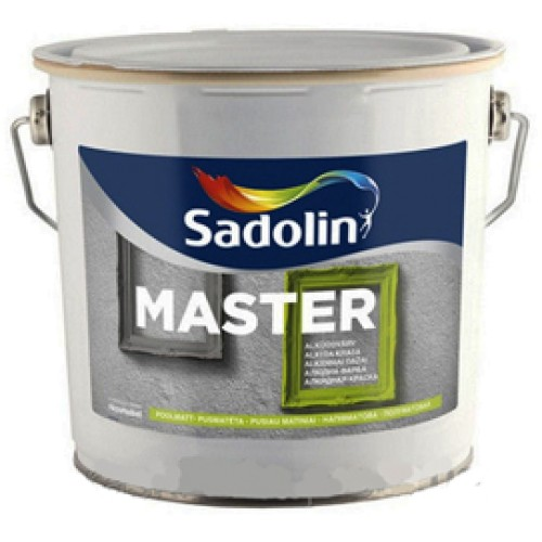 Алкидная краска Sadolin Master-90 BW Садолин Мастер, глянцевая