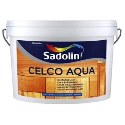 Лак для стен Sadolin Celco Aqua