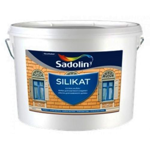 Краска для фасада Sadolin Silikat Садолин Силикат